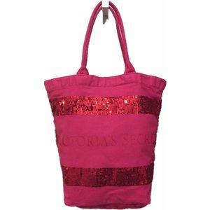 Victoria's Secret Sequins Tote Bag